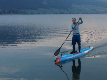 Bart de Zwart - 24 Hour SUP World Record