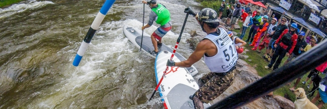 GoPro Mountain Games stand up paddling
