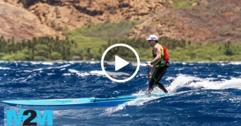 Maui 2 Molokai paddleboard race video 2017