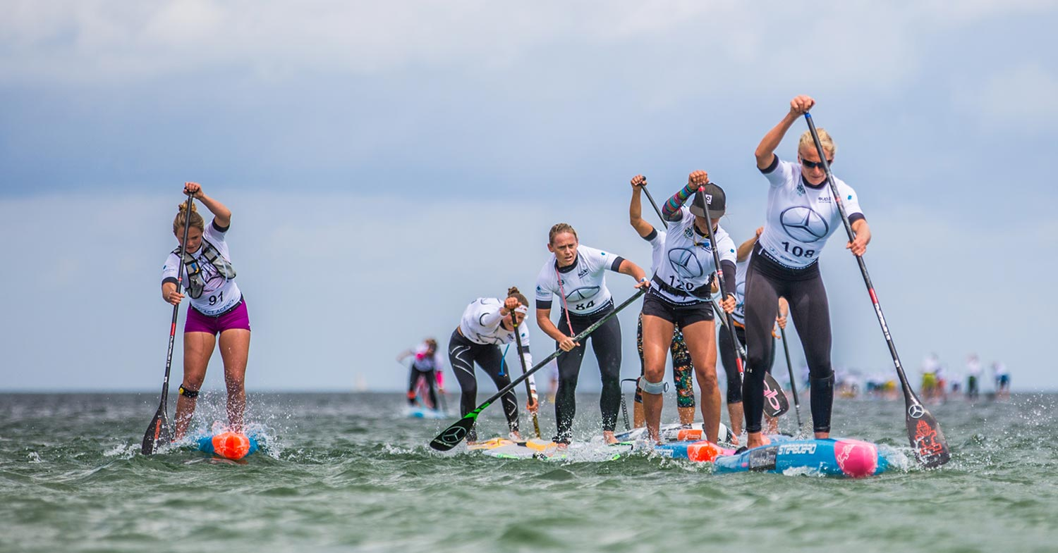 Mercedes Benz SUP World Cup in Germany