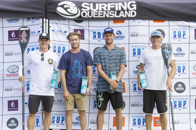 Australian SUP Titles - Men