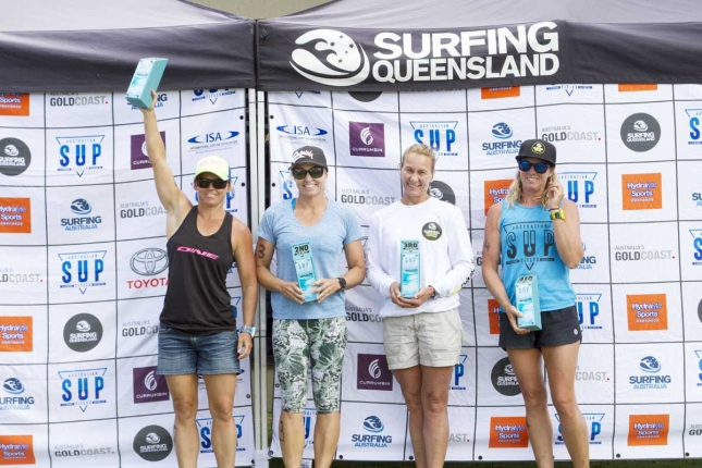 Australian SUP Titles - Women