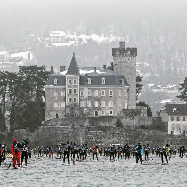 Annecy GlaGla Paddle Boarding Race