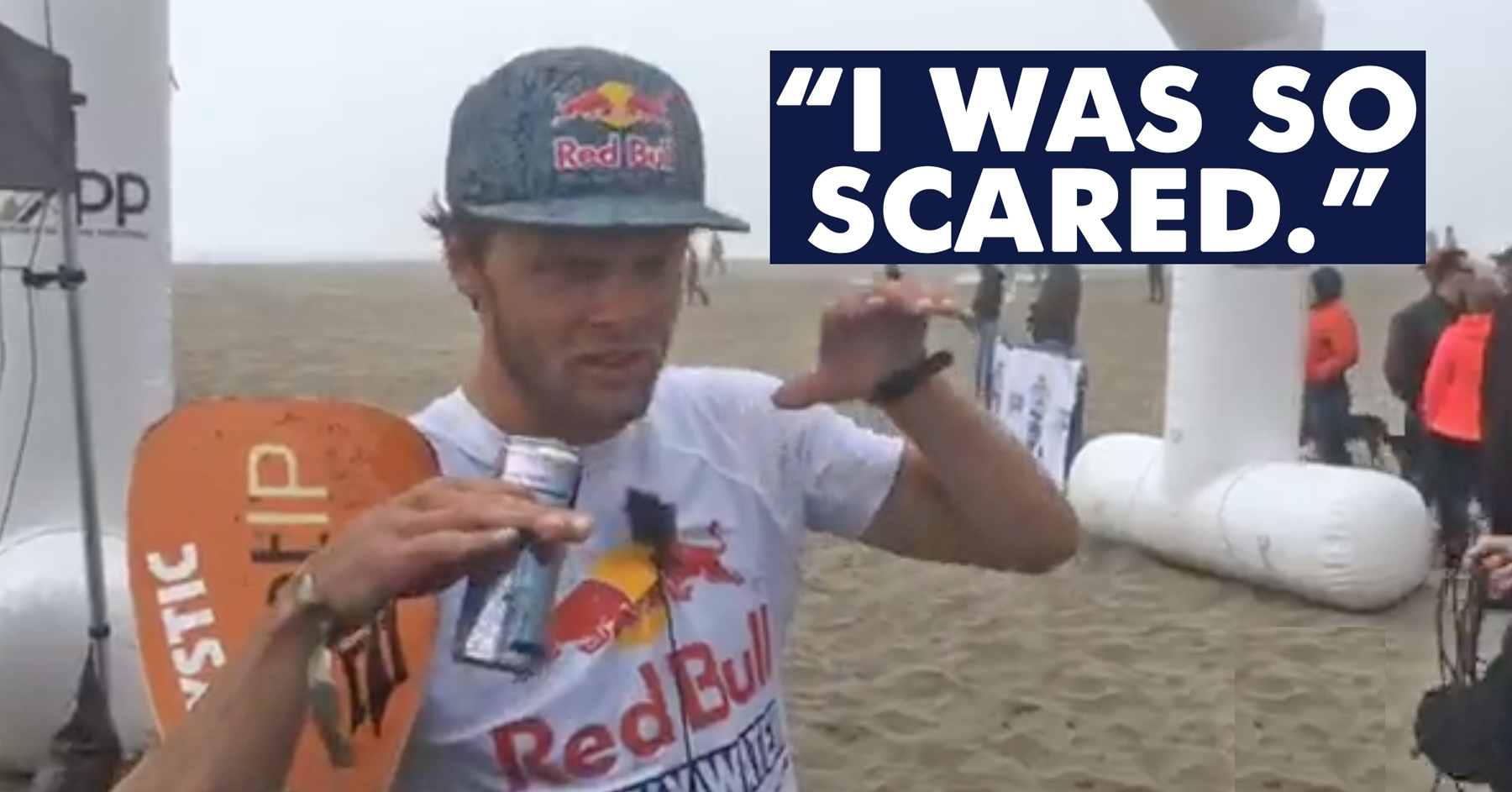 ''I was so scared'' -- Casper Steinfath survives chaotic conditions to win Red Bull Heavy Water